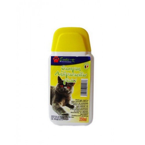 Sampon Antiparazitar pentru Pisici Exo.250 ml - Herbal 0