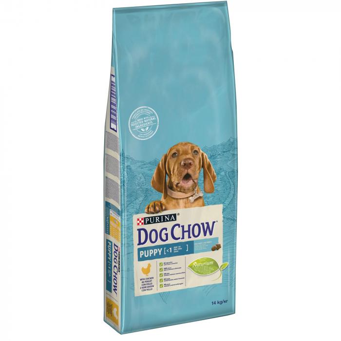 PURINA DOG CHOW PUPPY Talie Medie cu Pui 2.5 kg 0