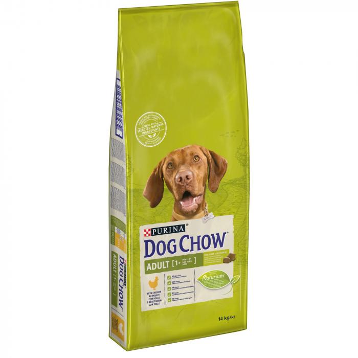 PURINA DOG CHOW ADULT Talie Medie cu Pui 14 kg 0