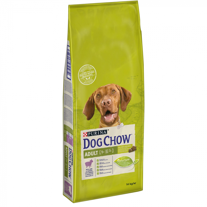 PURINA DOG CHOW ADULT Talie Medie cu Miel 2.5 kg 0