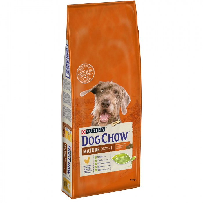 PURINA DOG CHOW MATURE ADULT cu Pui 14 kg 0