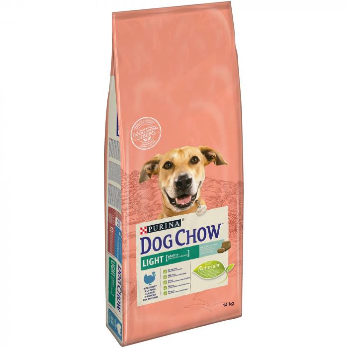 PURINA DOG CHOW LIGHT cu Curcan 14 kg 0