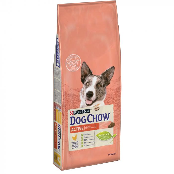 PURINA DOG CHOW ACTIVE Talie Medie cu Pui 14 kg 0