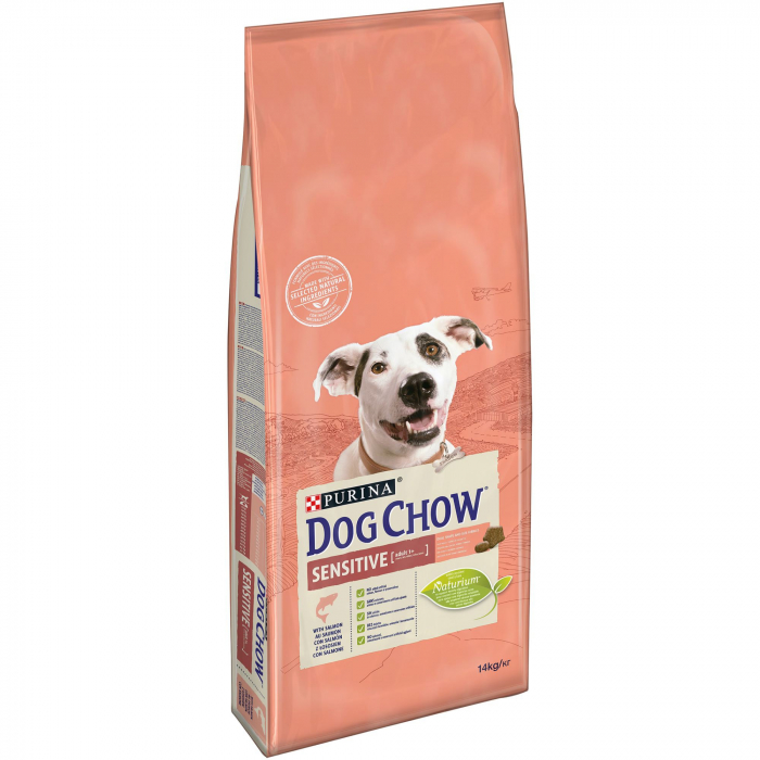 PURINA DOG CHOW SENSITIVE cu Somon 2.5 kg 0