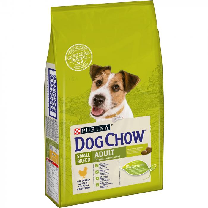 PURINA DOG CHOW Talie Mica Adult cu Pui 7.5 kg 0