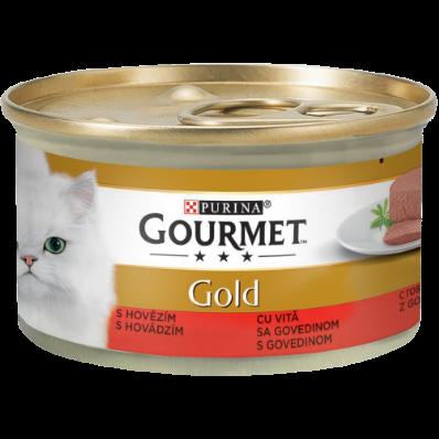 PURINA GOURMET GOLD Mousse cu Vita, hrana umeda pentru pisici 85 g 0