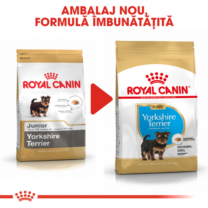 Royal Canin Yorkshire Terrier Puppy hrana uscata pentru caini 1.5 kg 6