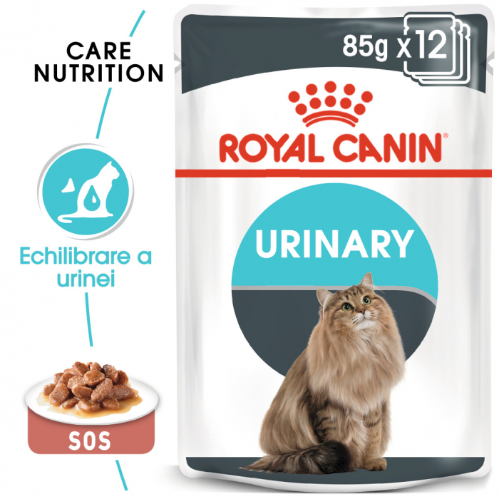 ROYAL CANIN Urinary Care hrana umeda in sos 12x85g 0
