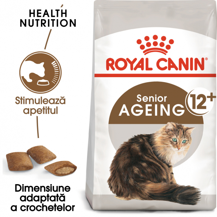 ROYAL CANIN Ageing 12+, 4 kg 0