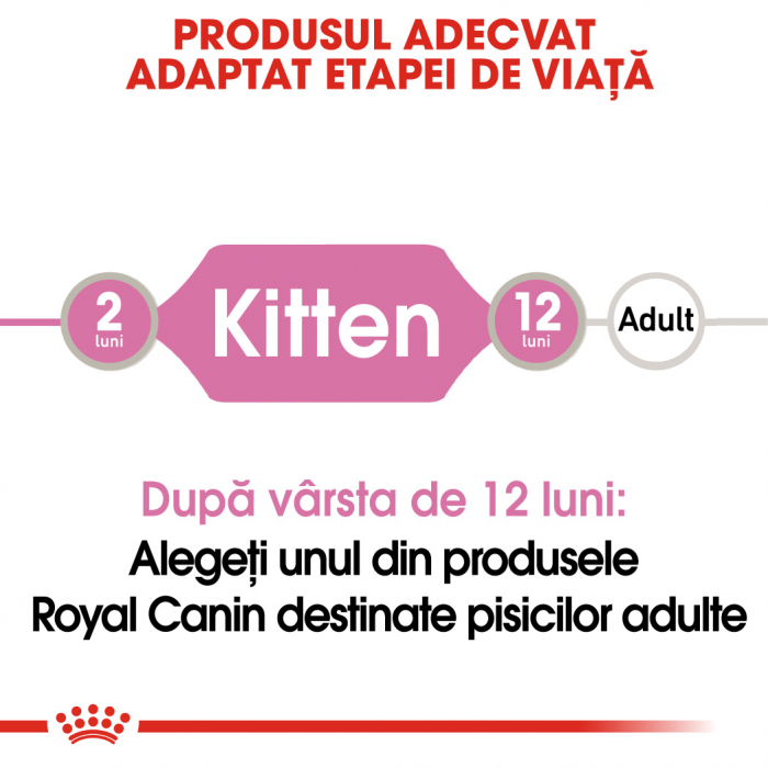 ROYAL CANIN Kitten Instinctive hrana umeda in sos 12x85g 2