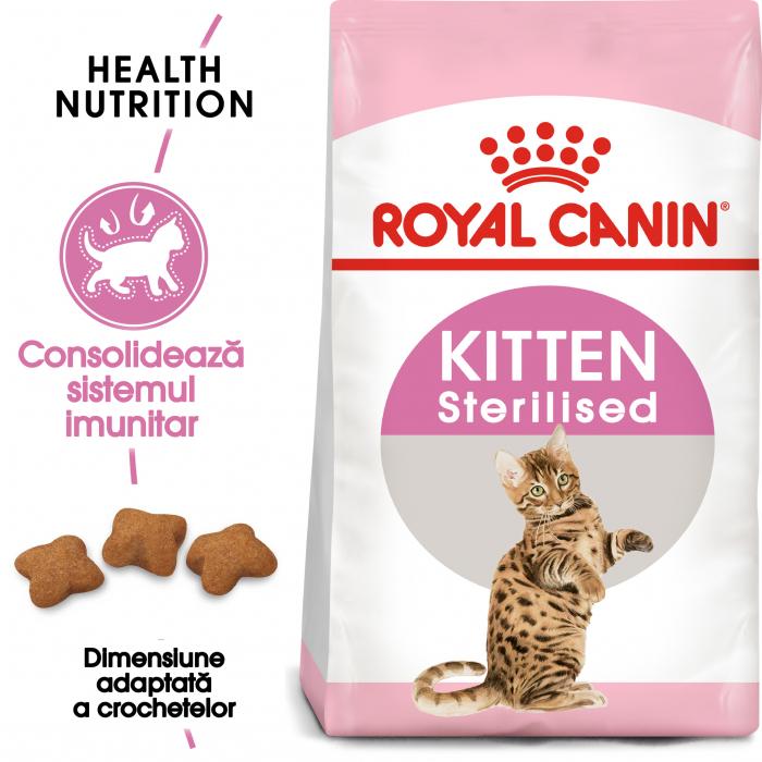 ROYAL CANIN Sterilised Kitten 2 kg 0