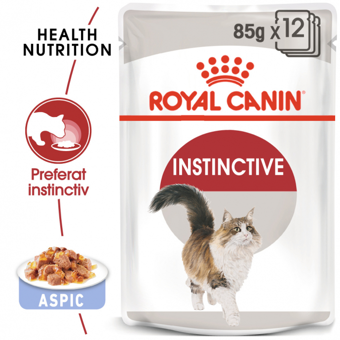 ROYAL CANIN Instinctive hrana umeda in aspic 12x85g 0