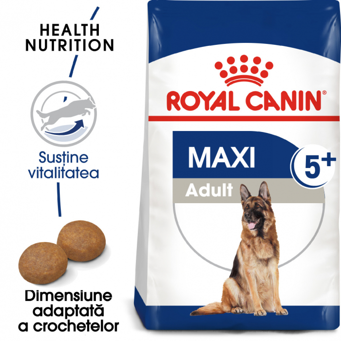 ROYAL CANIN Maxi Adult 5+, 4 kg 0