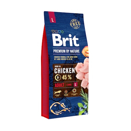 Brit Premium by Nature Adult L 15 kg 0