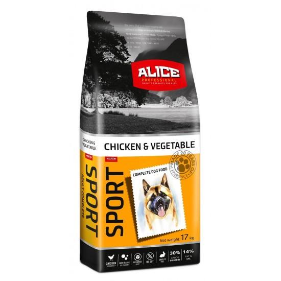Hrana uscata pentru caini Adult Sport, 17 kg, pui si legume 91096 0