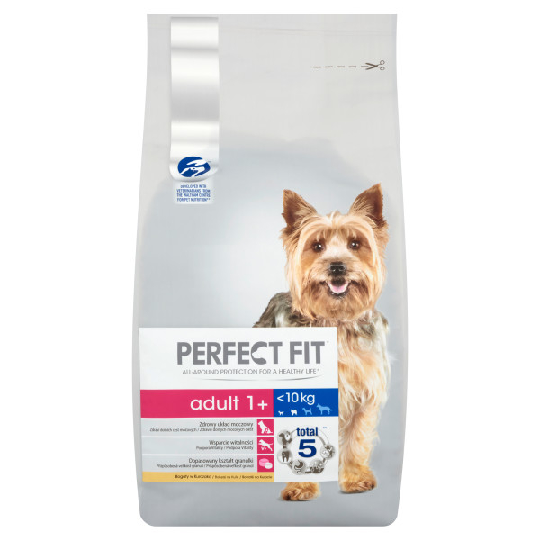 PERFECT FIT DOG Adult Small &Mini, hrana uscata cu pui 6 kg 0