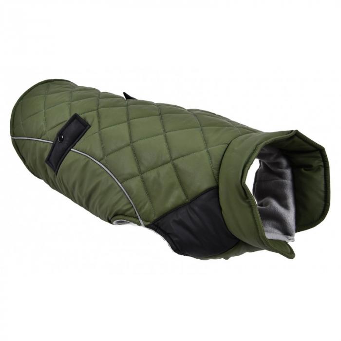 PACHET Mon Petit Ami - Jacheta 45 + Culcus Rotund M, 63x11cm verde inchis [1]