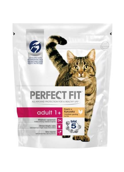 PERFECT FIT CAT Adult, hrana uscata cu pui 750 g 0