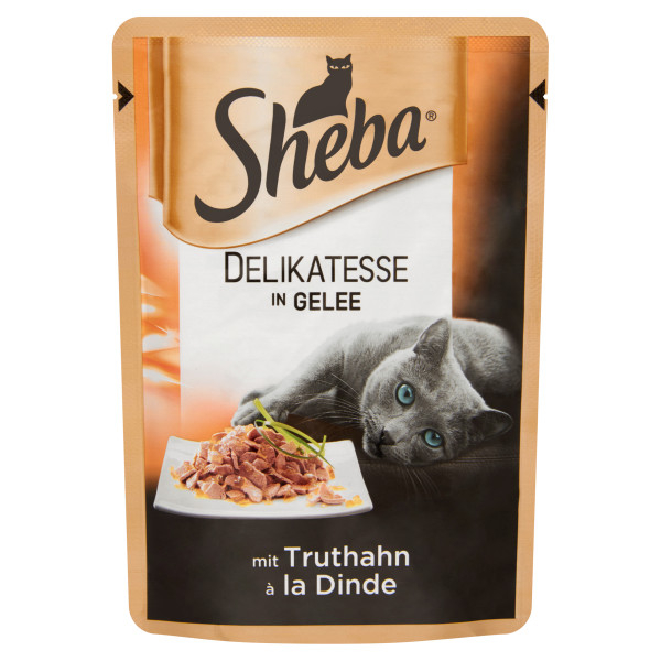 Sheba Adult Delicate Plic curcan in aspic 85 g 0