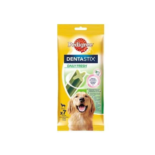 PEDIGREE DentaStix Fresh pentru caini de talie mare, batoane dentare 270g 0