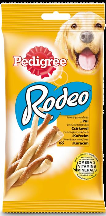 PEDIGREE Rodeo cu pui, recompesa pentru caini 140 g 0