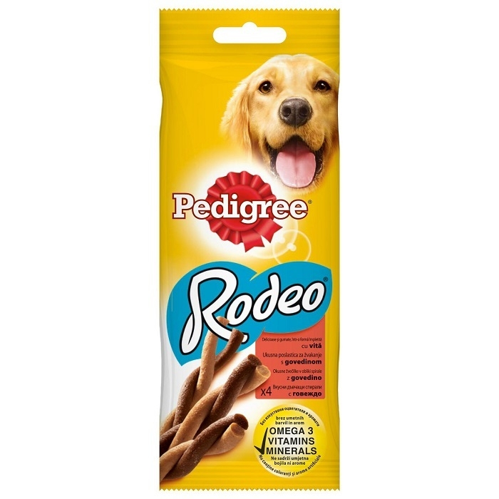 Pedigree Rodeo 70 g, vita 0