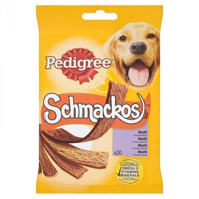 PEDIGREE Schmackos, recompensa pentru caini 172g 0