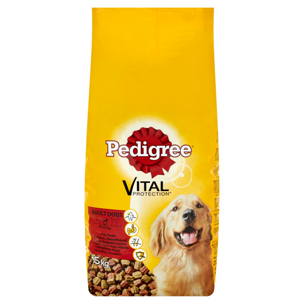 Pedigree Vital Protection Adult 15 kg, vita si pasare 0