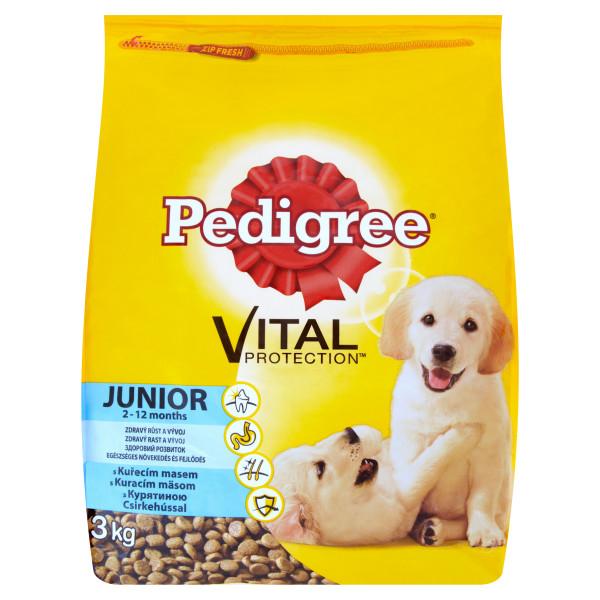 Pedigree Vital Protection Junior 3 kg, pui si orez 0