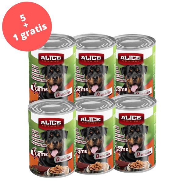 PROMO 5+1 Conserva Alice P. hrana umeda 1240 g - vanat [0]