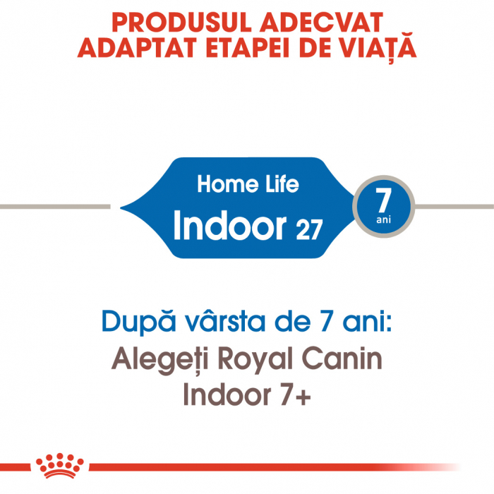 ROYAL CANIN Indoor 27, 400g+400g gratuit 3