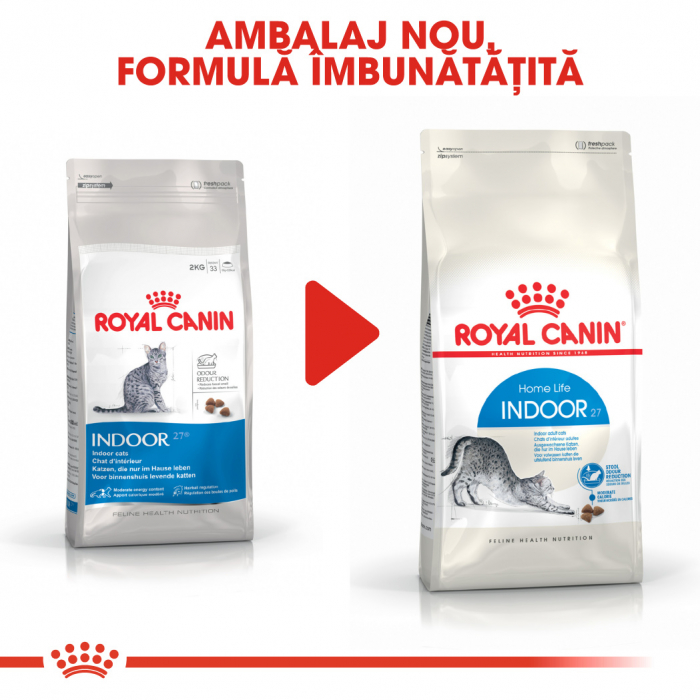 ROYAL CANIN Indoor 27, 400g+400g gratuit 2