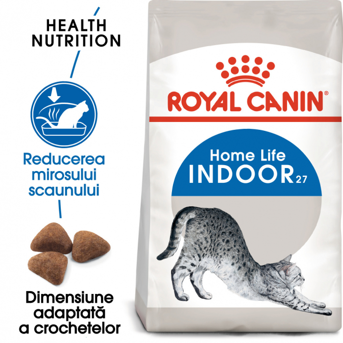 ROYAL CANIN Indoor 27, 400g+400g gratuit 1