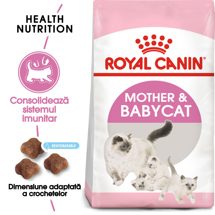 ROYAL CANIN Mother&Babycat 400g+400 g gratuit 1