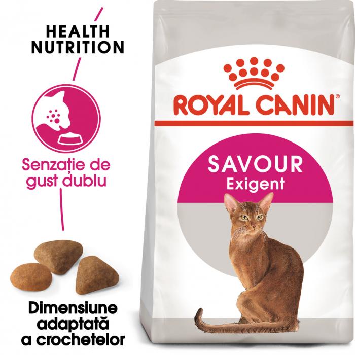 Royal Canin Savour Exigent hrana uscata pentru pisici 10 kg 0