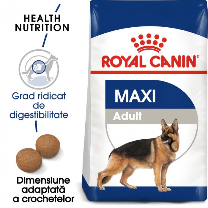 Royal Canin Maxi Adult hrana uscata pentru caini 4 kg 0