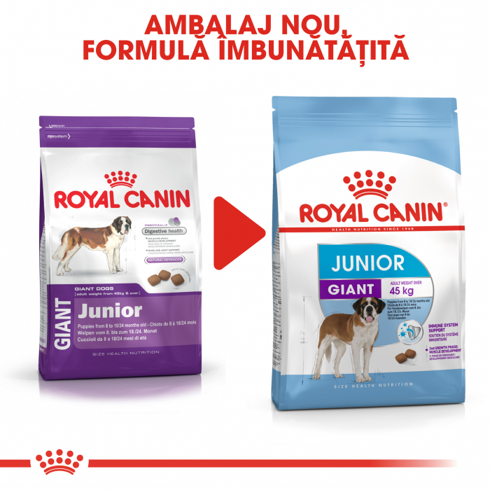 ROYAL CANIN Giant Junior 3.5 kg 1