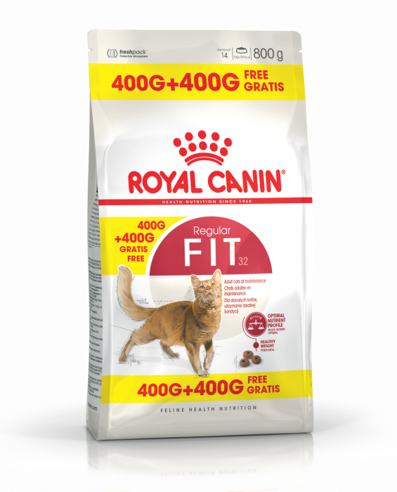 ROYAL CANIN Fit 32, 400g+400g gratuit 0