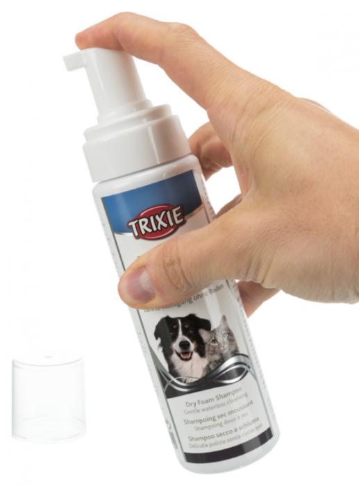 Sampon uscat spuma pentru caini si pisici, 230 ml Trixie 29410 0