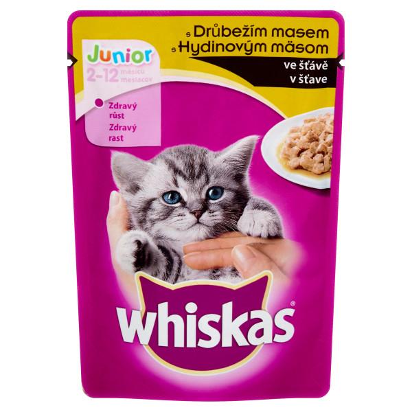 Whiskas Junior Plic cu pasare in sos 100 g [0]