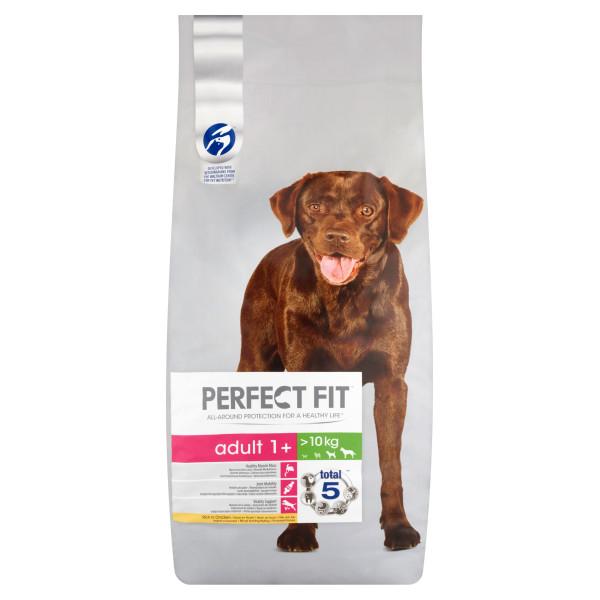 PERFECT FIT DOG Adult Medium&Large, hrana uscata cu pui 1.4 kg 0