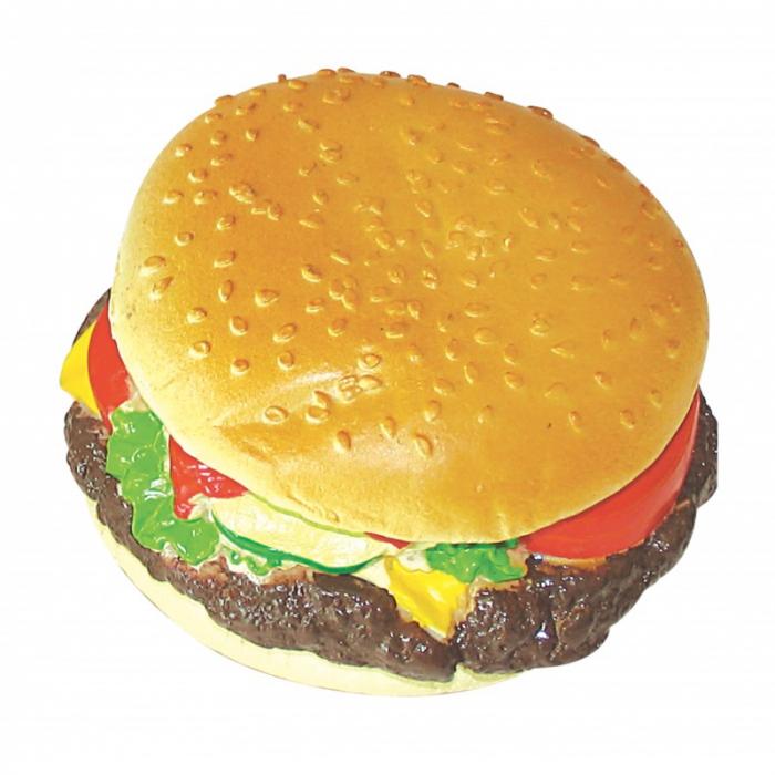 Mon Petit Ami Jucarie hamburger din vinil 5.5x Diametru 9 cm 0