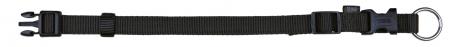 Zgarda Chinga Clasic Reglabil 30-45 cm/15 mm Negru 142110