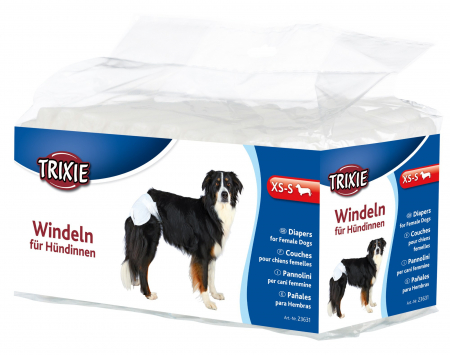 Trixie Scutece marimea XS-S, 12 buc/ 20-28 cm0