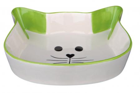 Castron Ceramica Pisica 250 ml/12 cm/4 Nuante 244940