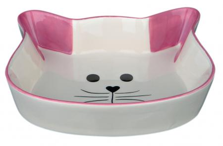 Castron Ceramica Pisica 250 ml/12 cm/4 Nuante 244941