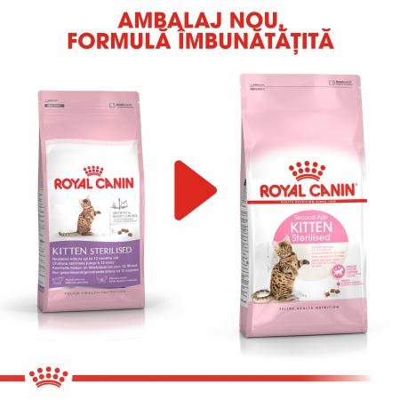 ROYAL CANIN Sterilised Kitten 2 kg1