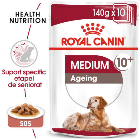 ROYAL CANIN Medium Ageing hrana umeda, 12*85 g0