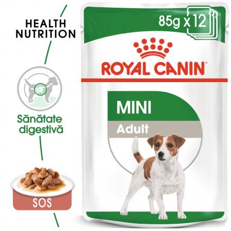 Royal Canin Mini Adult hrana umeda pentru caini 12*85g [0]