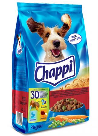 CHAPPI Vita, pasare si legume, hrana uscata pentru caini adulti, 13.5 kg2